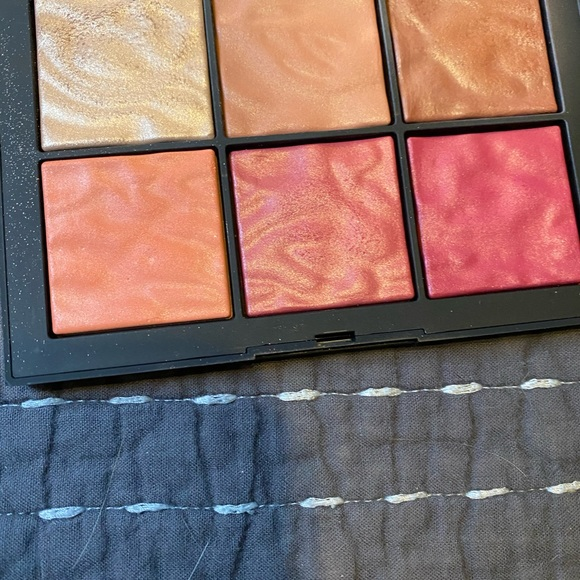 NARS exposed blush palette gently used
